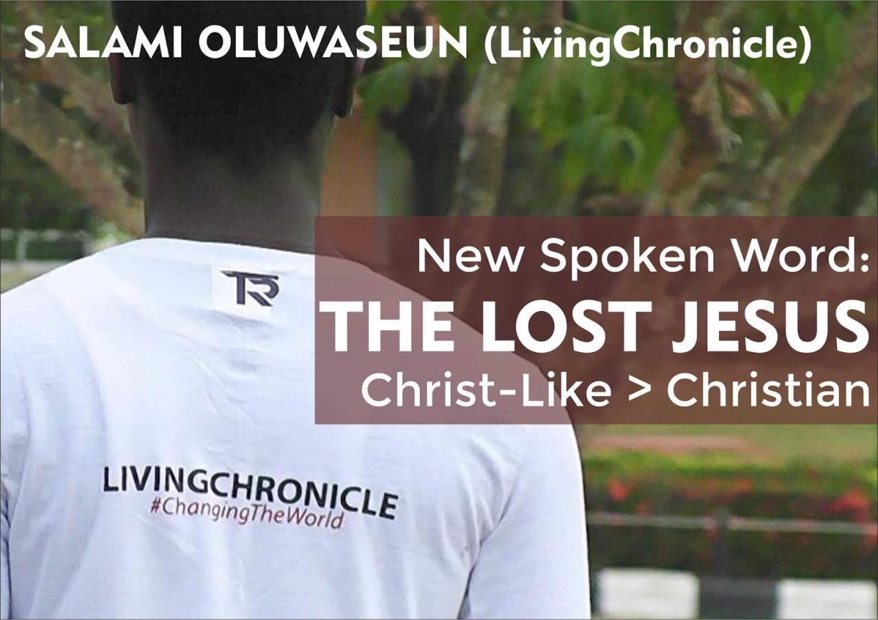 Lost Jesus: Christ Like Greater Than Christian - Salami Oluwaseun | Latest Gospel Music