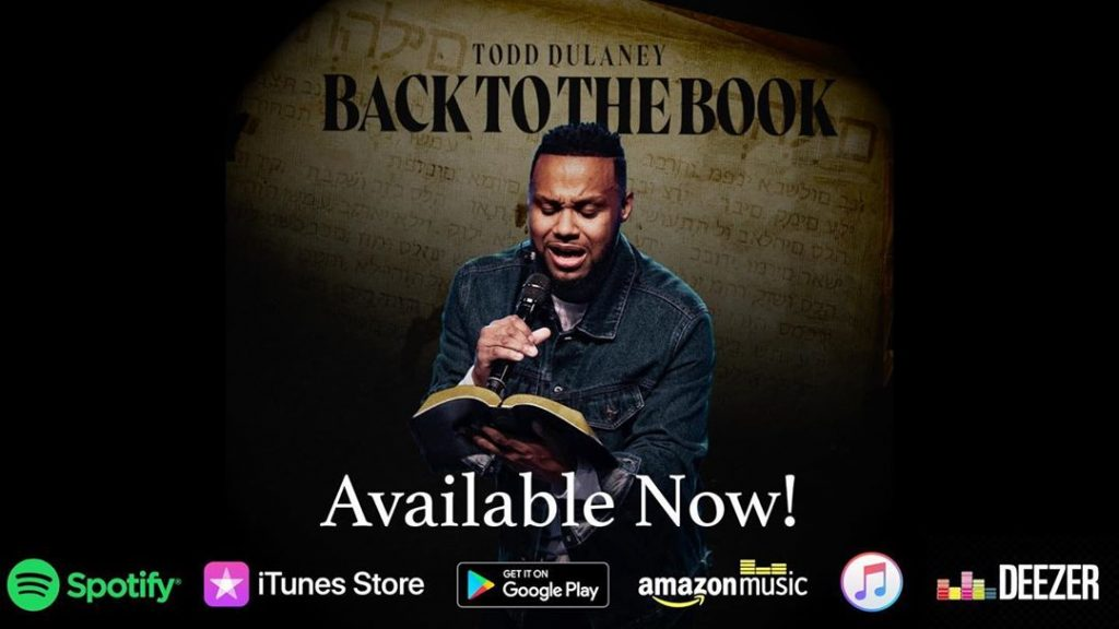 """Todd Dulayney Drops New EP Titled """"Back To The Book"""""""