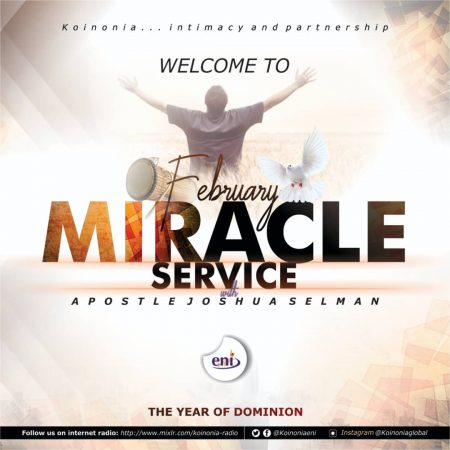 Apostle Joshua Selman - February Miracle Service
