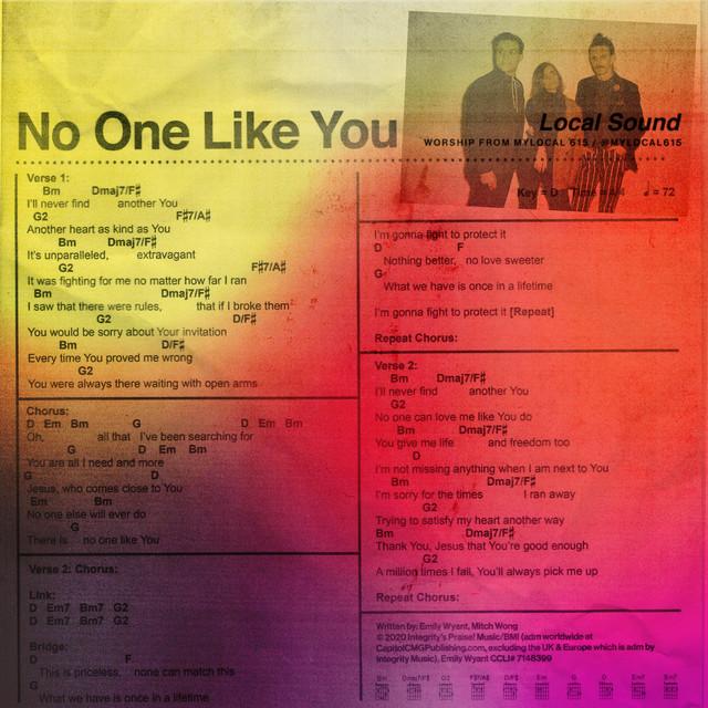 "Local Sound - ""No One Like You"""