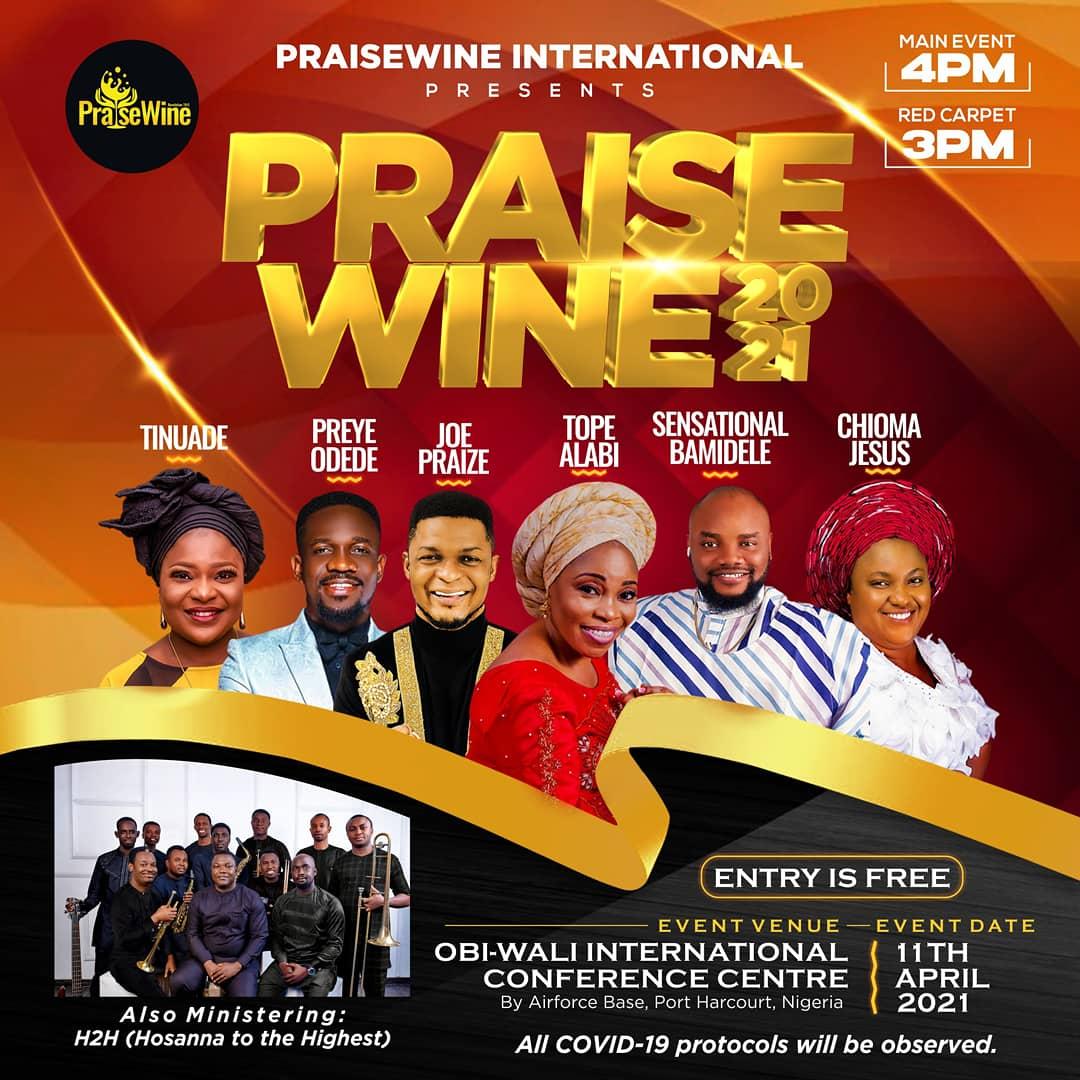 Event PraiseWine 2021