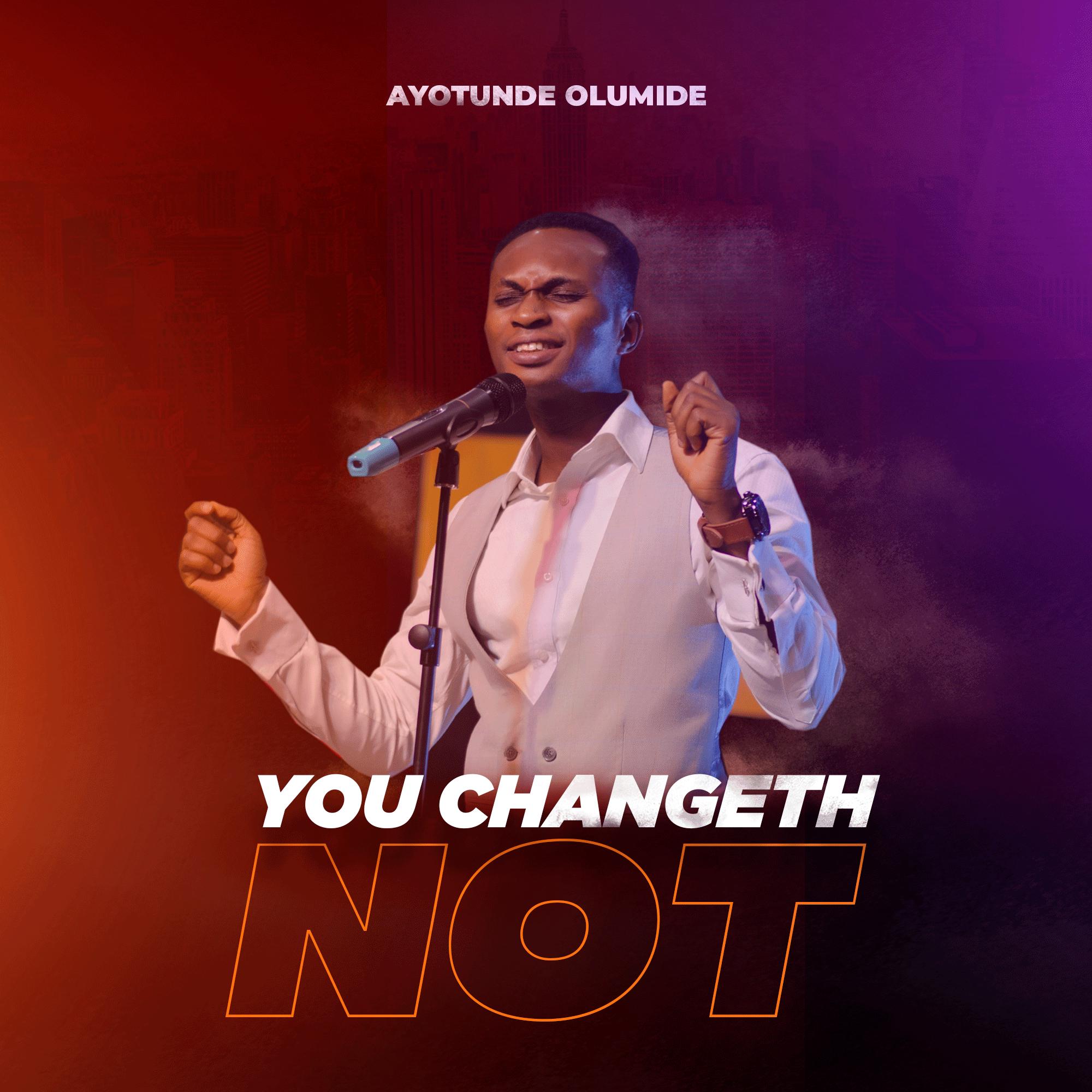 you changeth not