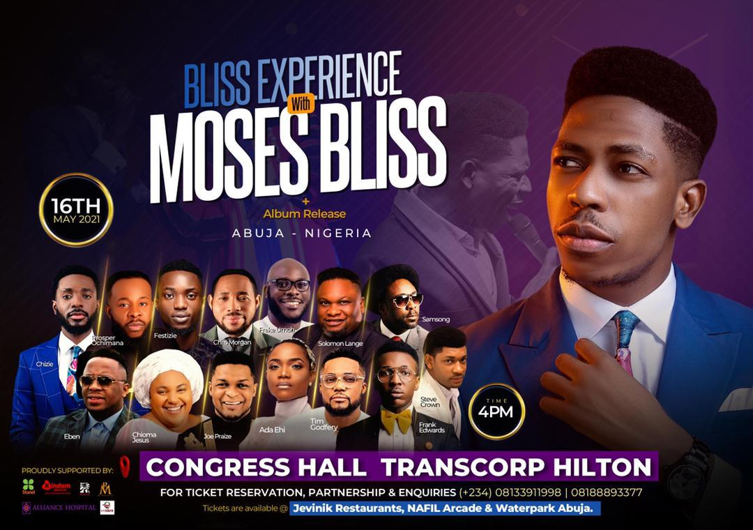 """EVENT: Moses Bliss - """"The Bliss Experience"""" Live In Abuja 
