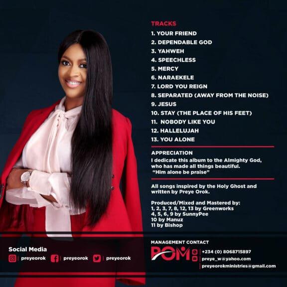 ALBUM: Preye Orok - Mercy