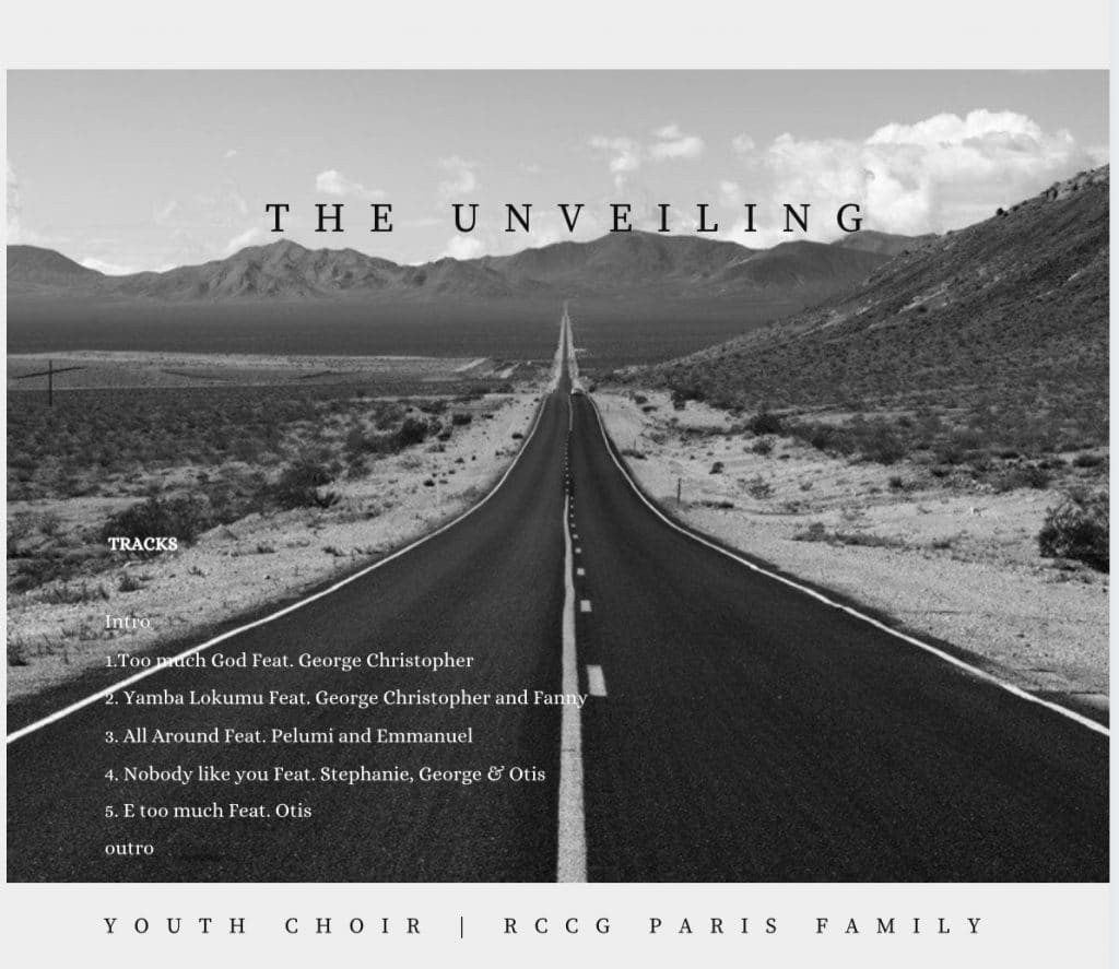 """Youth Choir Of Rccg Paris Family Drops Debut Album """"The Unveiling"""""""