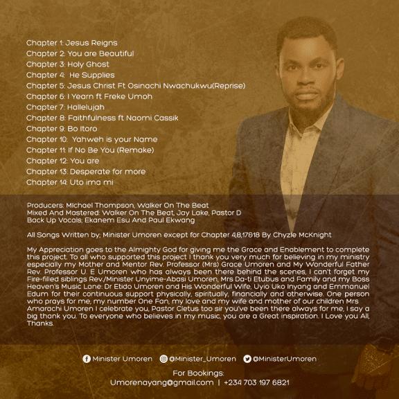 ALBUM: Minister Umoren - The Psalms