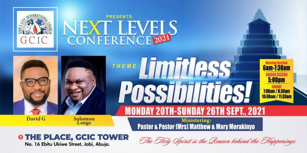 EVENT: God's City International Church host Next Level Conference 2021